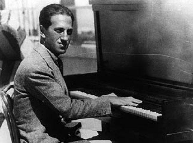 Gershwin at the piano