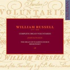 William Russell John Kitchen Complete Organ Volunt