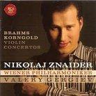 Brahms, Korngold Violin Concertos