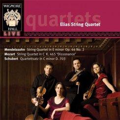Schubert, Mozart, Mendelssohn String Quartets