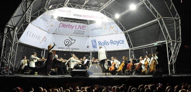 Darley Park Concert, Derby