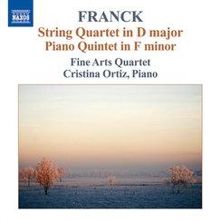 Franck String Quartet in D; Piano Quintet in F min