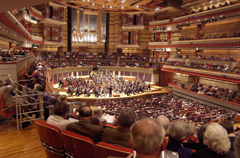 Symphony Hall Birmingham UK classical music venues