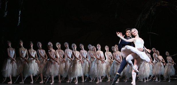Royal Ballet dancing Swan Lake and the Royal Opera