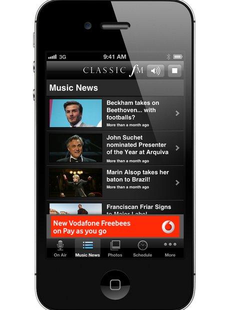 Classic FM app