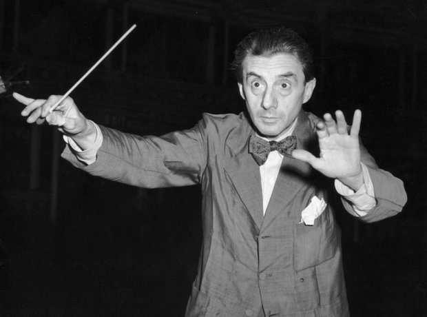 John Barbirolli conducting