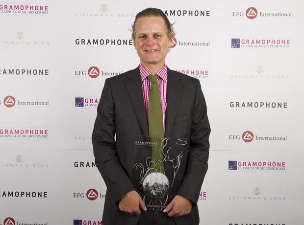 Gramophone Awards 2012 Oswald Brown