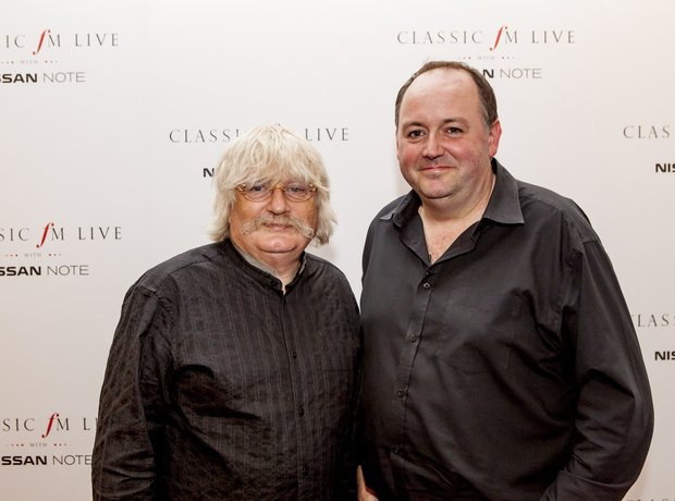 Karl Jenkins and Tim Lihoreau at Classic FM Live 2