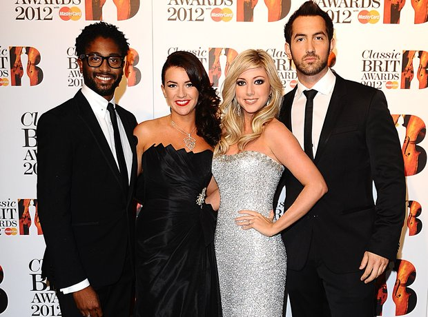 Amore at the Classic BRIT Awards 2012