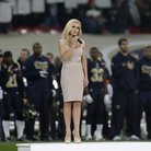katherine jenkins sings national anthem at NFL gam