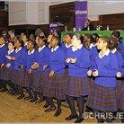 Maria Fidelis Gospel Choir rehearsal