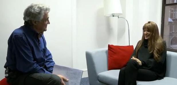 Nicola Benedetti and John Suchet
