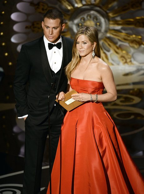 Channing Tatum and Jennifer Aniston at theOscars 2