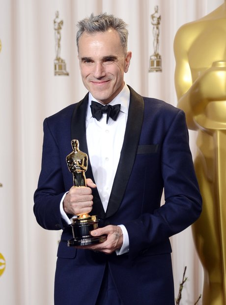 Daniel Day-Lewis at the Oscars 2013