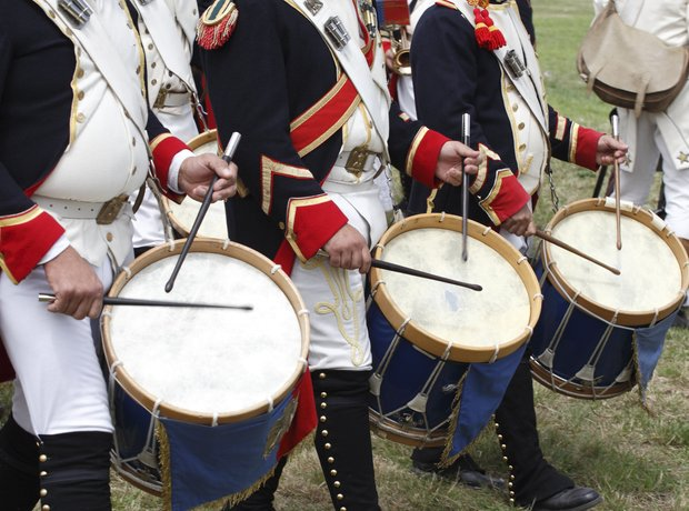 military drums
