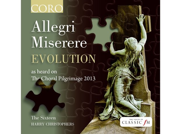 Allegri Miserere The Sixteen album cover