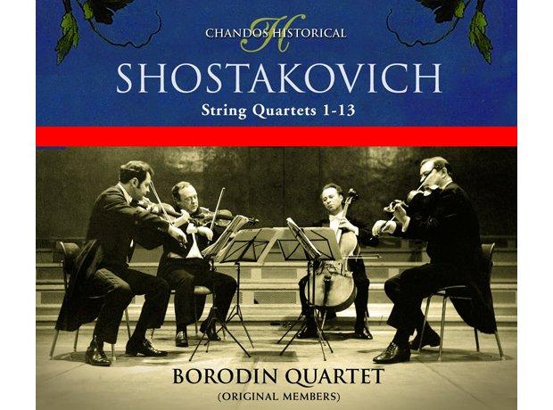 213 Shostakovich, String Quartet No. 2 by the Boro