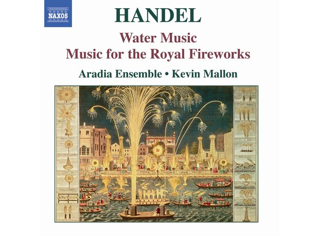 219 Handel, Water Music Suites, by Aradia Ensemble
