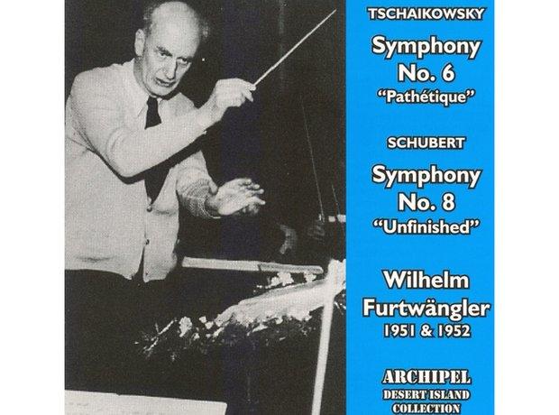 Tchaikovsky Symphony No.6 in B minor ('Pathetique') album cover