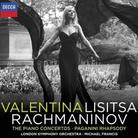 valentina lisitsa rachmaninov album cover