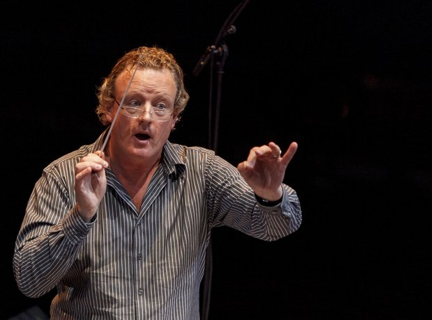 Howard Goodall Classic FM Live 2013 rehearsals
