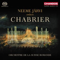 Neeme Jarvi conducts chabrier album cover