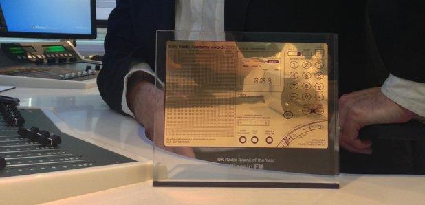 tim lihoreua with the sony award