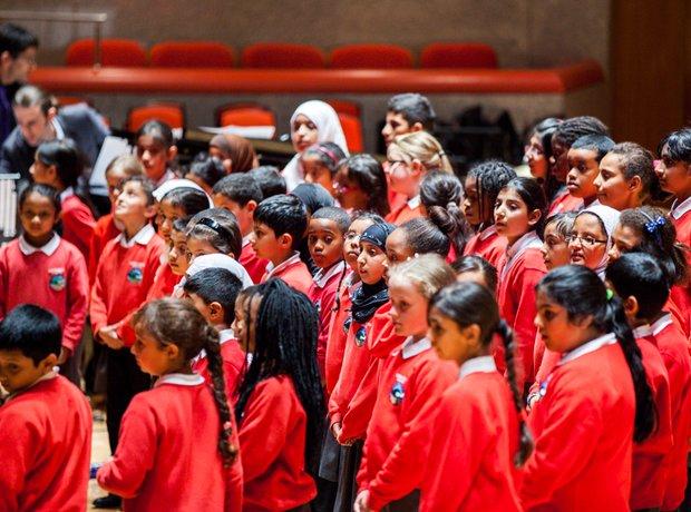 Bryron Wood Primary School Choir