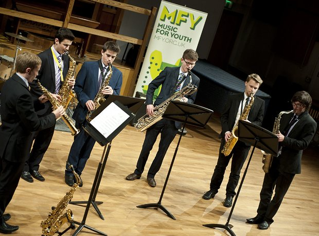 Northampton School for Boys Saxophone Ensemble