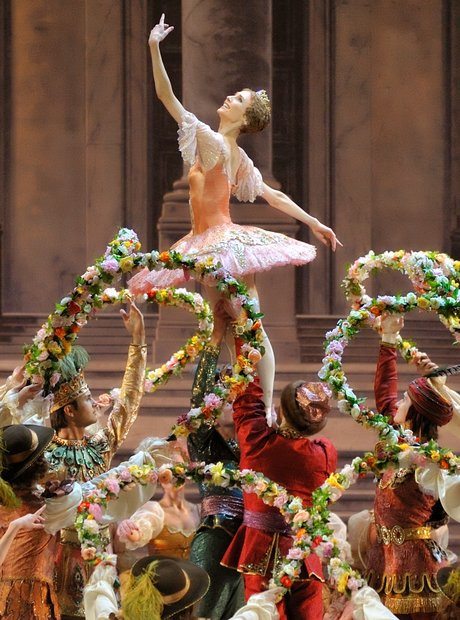 bolshoi london Sleeping Beauty Charles Perrault
