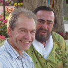John Brunning and Pavarotti
