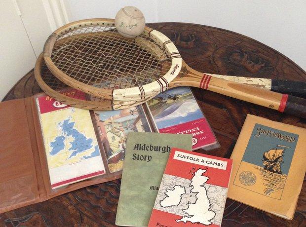 Britten Red House tennis Pears Aldeburgh