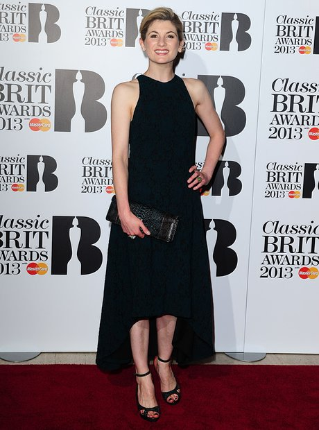 Jodie Whittaker at the Classic Brit Awards 2013