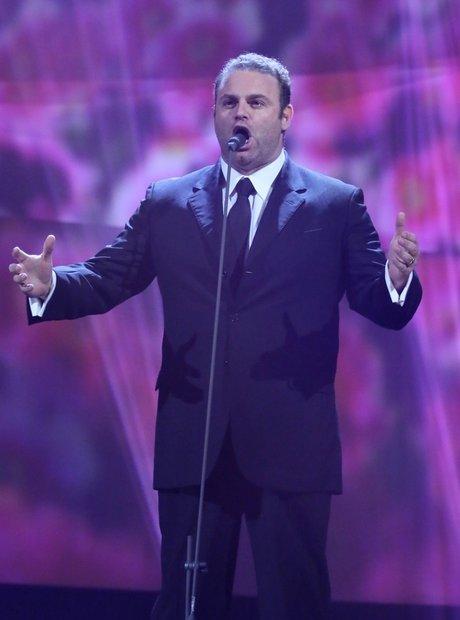 Joseph Calleja Classic Brit Awards 2013