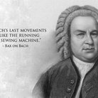 composer insults Bach