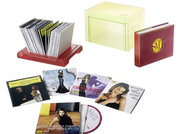 Anne-Sophie Mutter 35 box set