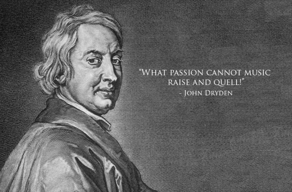 dryden classical music quotes