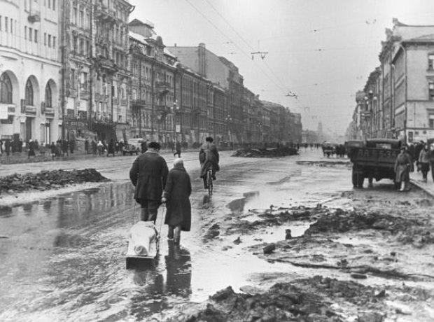 Veniamin Fleishman Leningrad siege