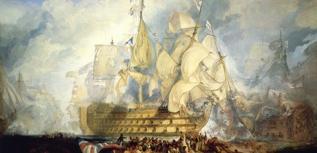 Turner Battle of Trafalgar