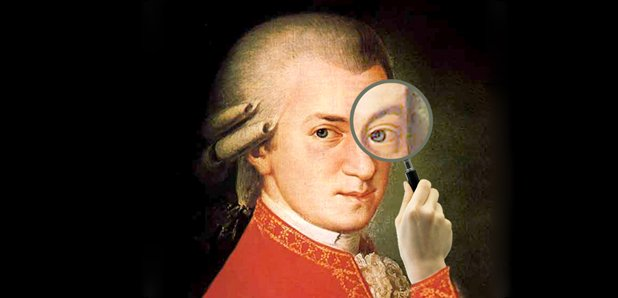 Mozart magnifying glass