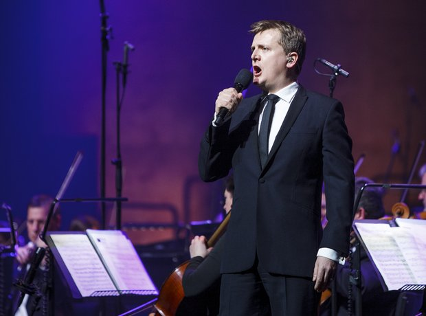 Aled Jones performing at Classic FM Live 2014