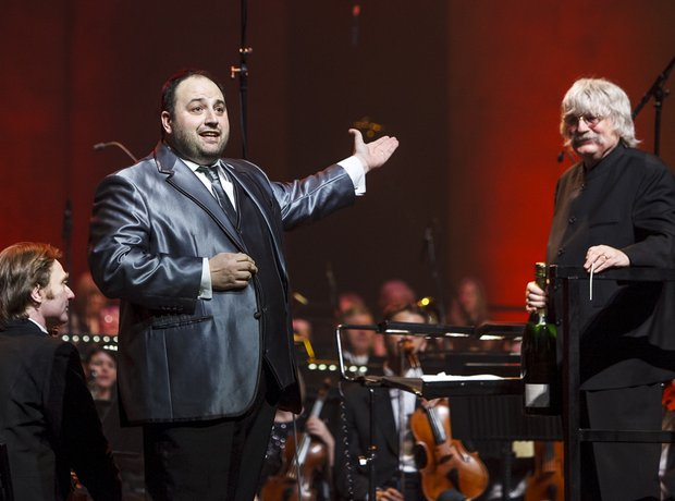 Wynne Evans and Karl Jenkins  at the Classic FM Li