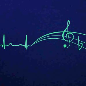 Heart rate music
