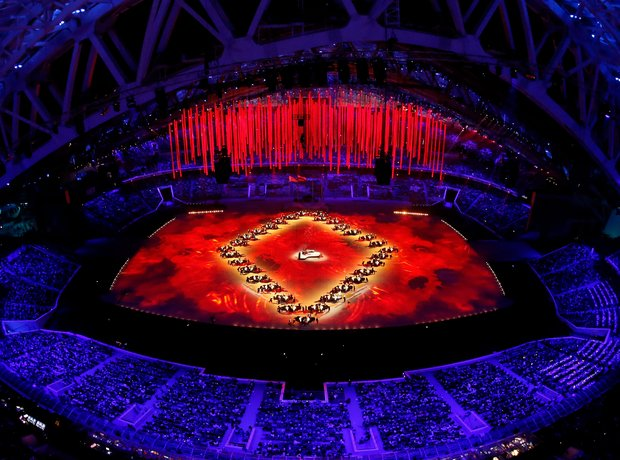 Winter Olympics Sochi 2014 Closing Ceremony