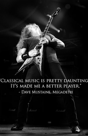 dave mustaine megadeth quote