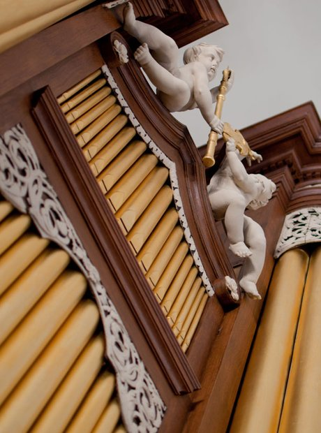 St Botolph without Aldgate organ oldest