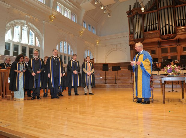 HRH The Prince of Wales visits the Royal College o