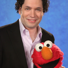 Gustavo Dudamel Elmo Sesame Street