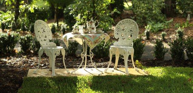 English summer garden tea