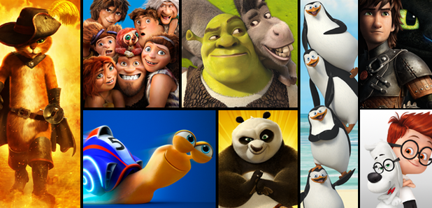 Dreamworks animated films